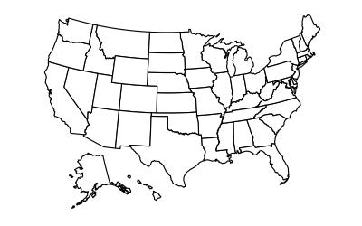 Better US map