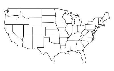 Default US map